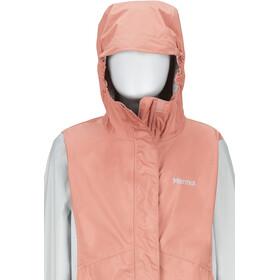 Marmot PreCip Eco Jacket Flickor coral pink/bright steel